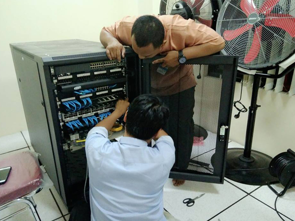 Instalasi Core Server di PJB Muara Tawar Bekasi