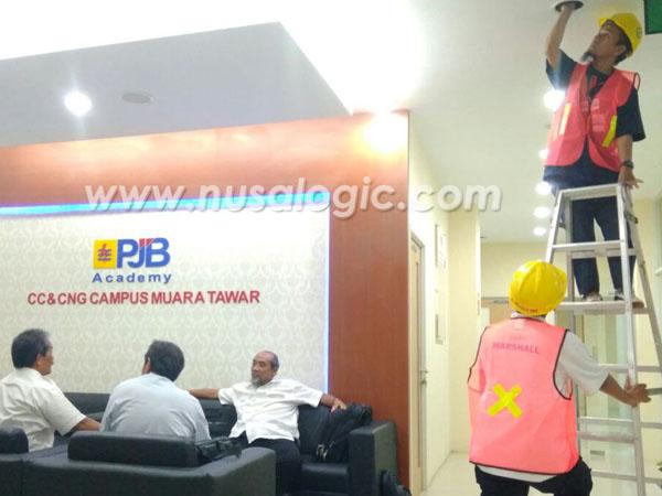 Instalasi CCTV di PJB Muara Tawar Bekasi