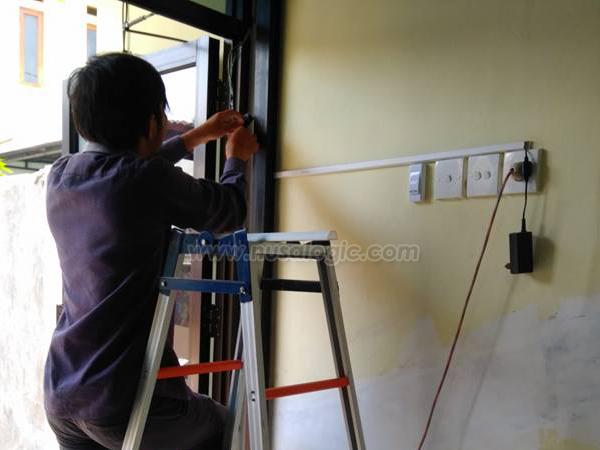 Dokumentasi Instalasi Access Door Solution A101 di PT Alrista Teramulya Jakarta Timur