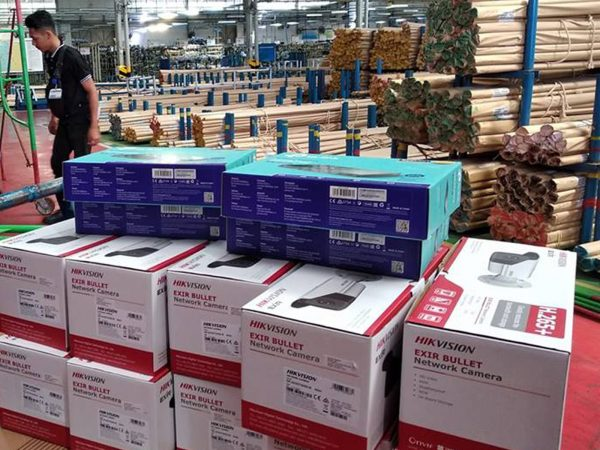 Pengadaan dan Instalasi CCTV IP CAM di PT Sanoh Kawasan Hyundai Bekasi