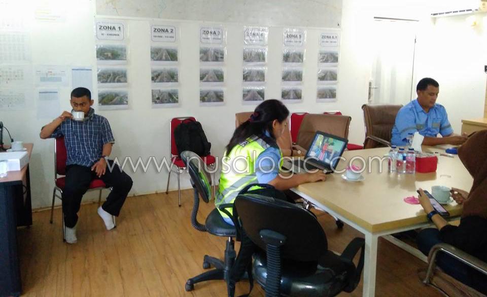 Pengadaan dan Instalasi Mesin Absensi Fingerprint PT Waskita Bekasi