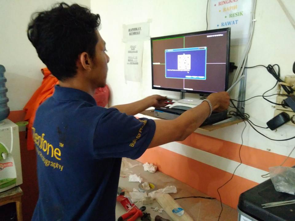 Instalasi CCTV di Warung Master Bebek Sukaresmi Lippo Cikarang