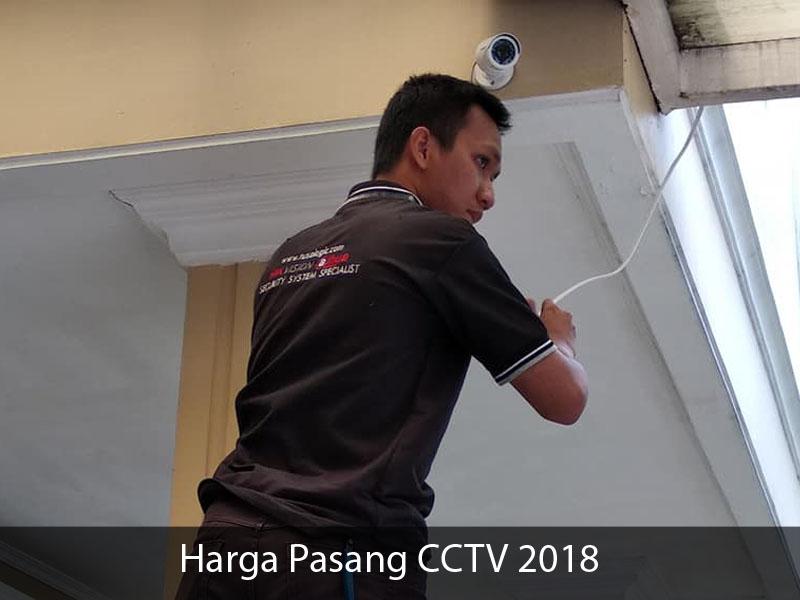 Harga Jasa Instalasi Pemasangan CCTV 2018