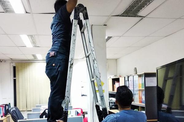 Jasa Pemasangan CCTV di PT DSI Laser Jababeka Bekasi