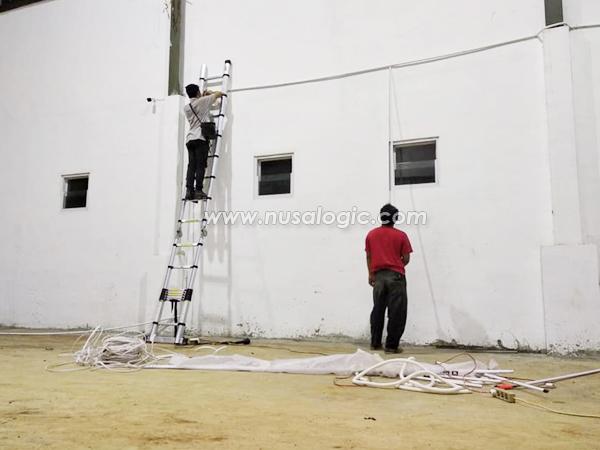 Instalasi dan Pengadaan CCTV di PT TJM Bekasi Indonesia