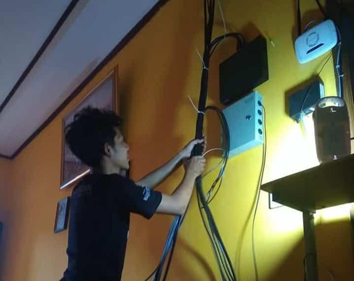 Instalasi CCTV di Perumahan Babelan Sektor 5 Marakas Candrabaga Bekasi