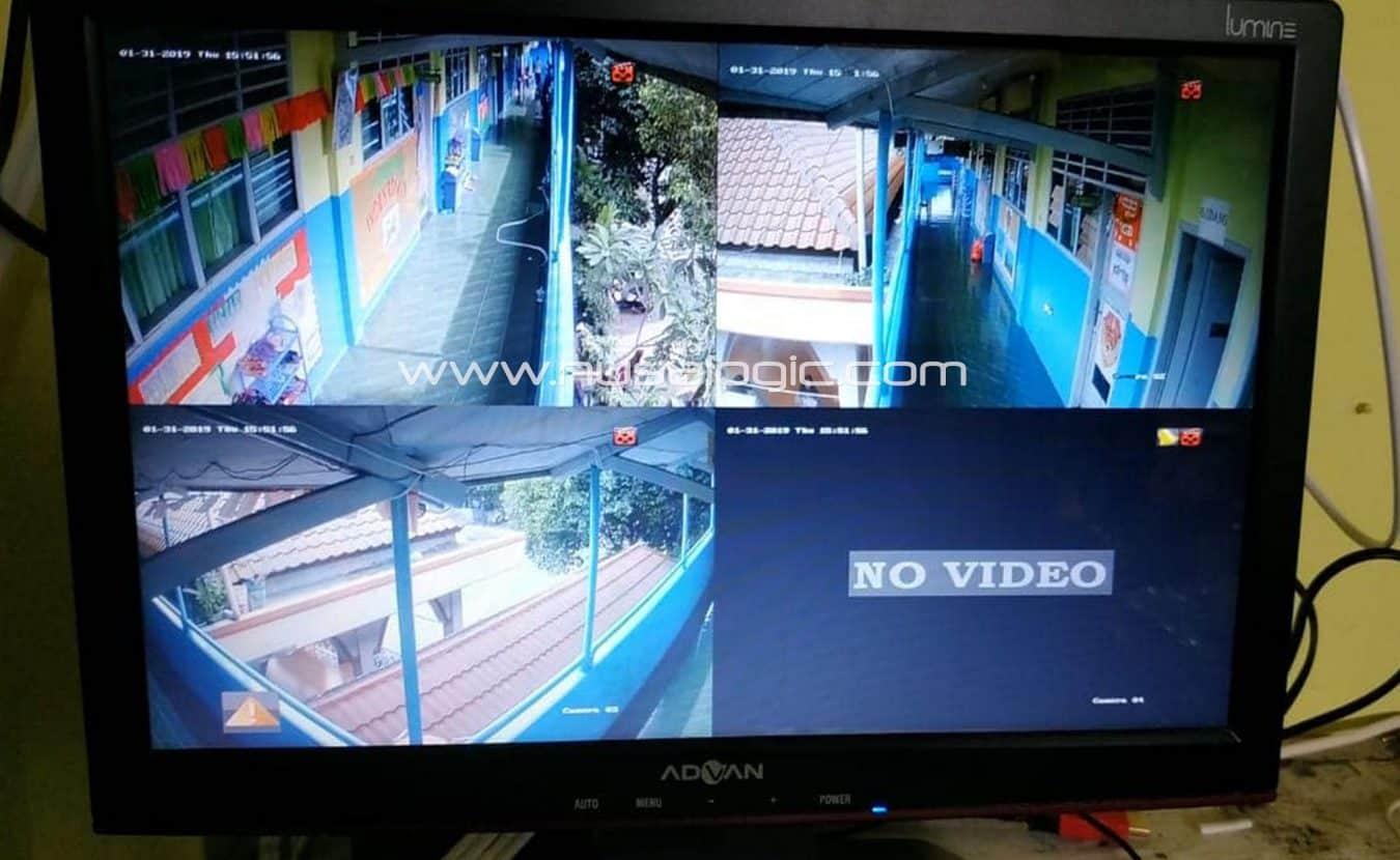 Instalasi dan Pemasangan CCTV di SIT AL Biruni Tanjung Barat Jakarta