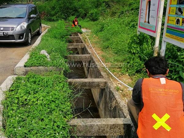 Maintenance CCTV dan Rollout Kabel di PT Enkei Cikarang Bekasi