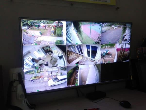 Pengadaan dan Instalasi CCTV di Mushola Balai warga Kemang Pratama Bekasi