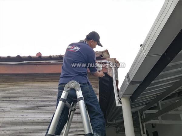 Pengadaan dan Instalasi CCTV di PT Jadi Utama Sakti Bekasi