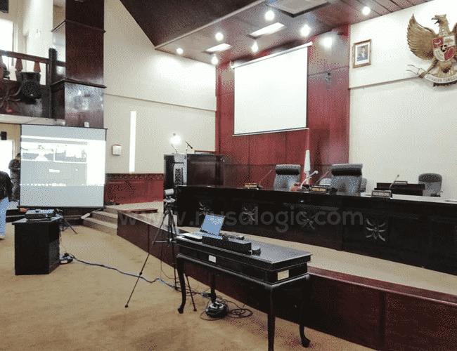 Pengadaan Perangkat Kamera Video Conference Smart TV Interaktif di DPRD Kota Bekasi