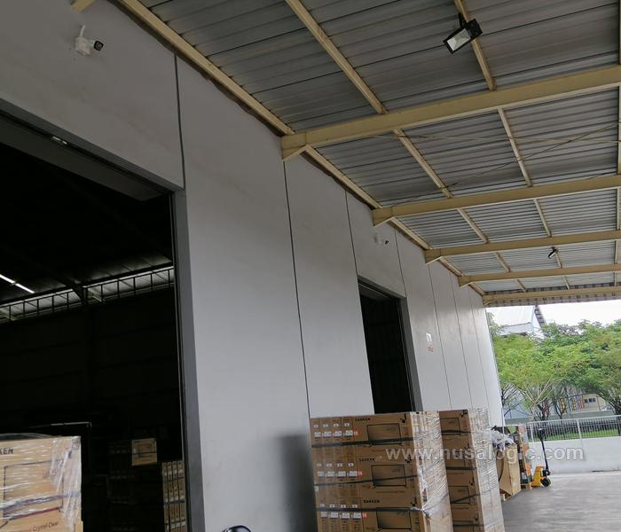 Pemasangan Ip Kamera CCTV di Gudang PT Skyworth Industry Indonesia Kawasan KITIC Bekasi