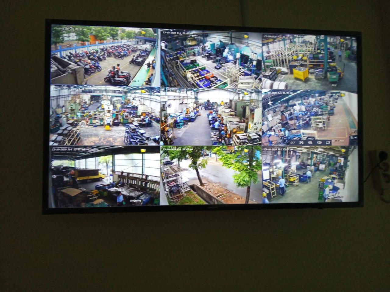 Pengadaan dan instalasi CCTV di PT Asaba Metal Industri